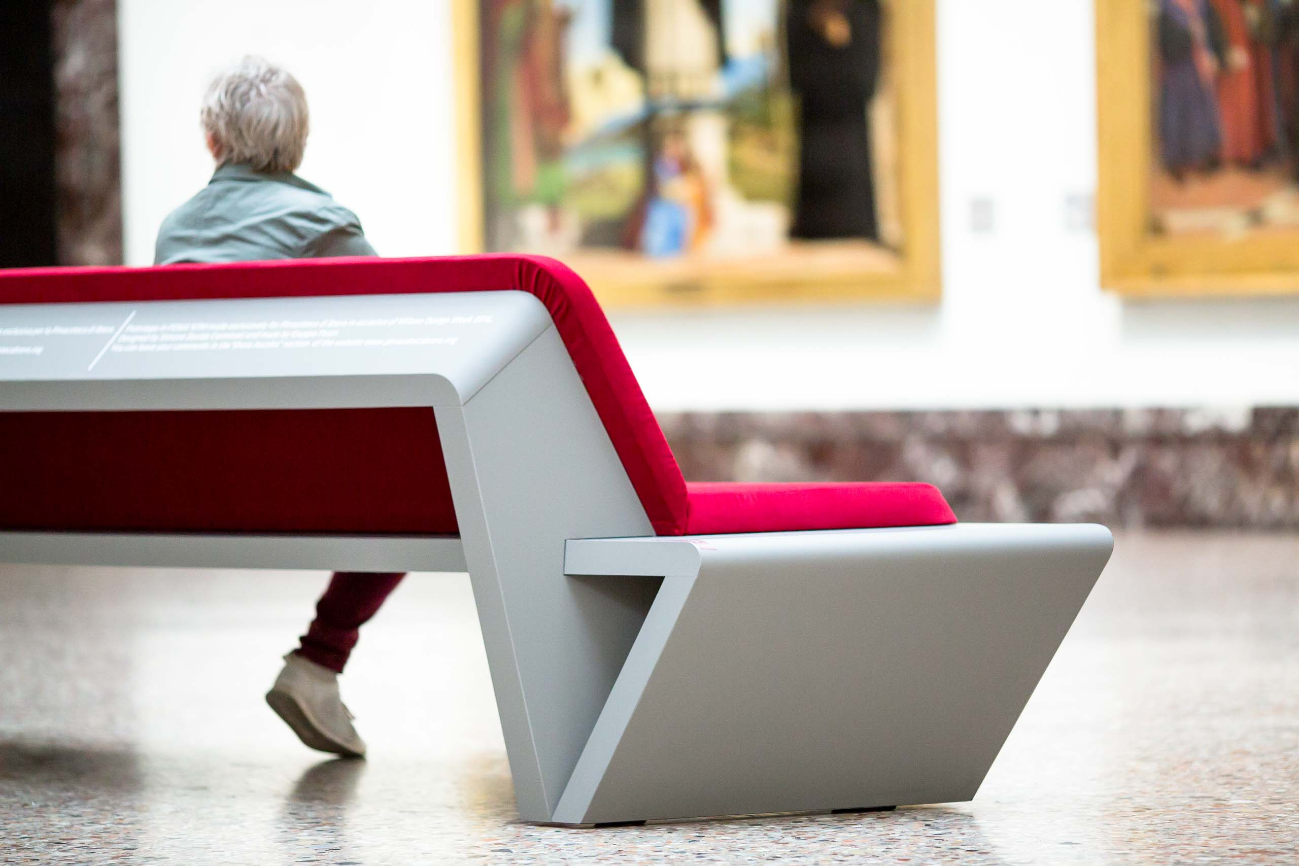 THE NEW BENCH FOR THE PINACOTECA DI BRERA