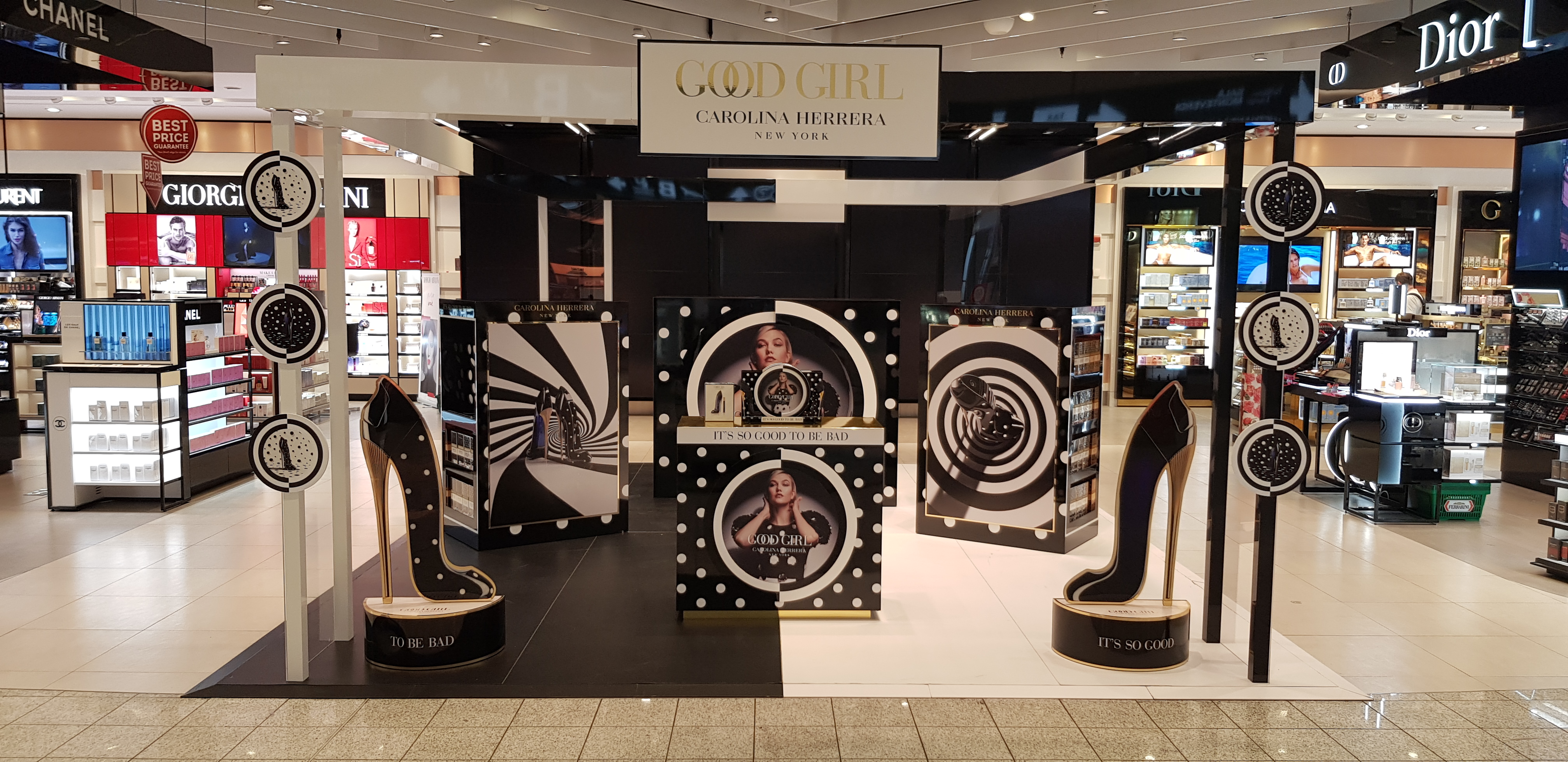 Carolina Herrera Malpensa Travel Retail