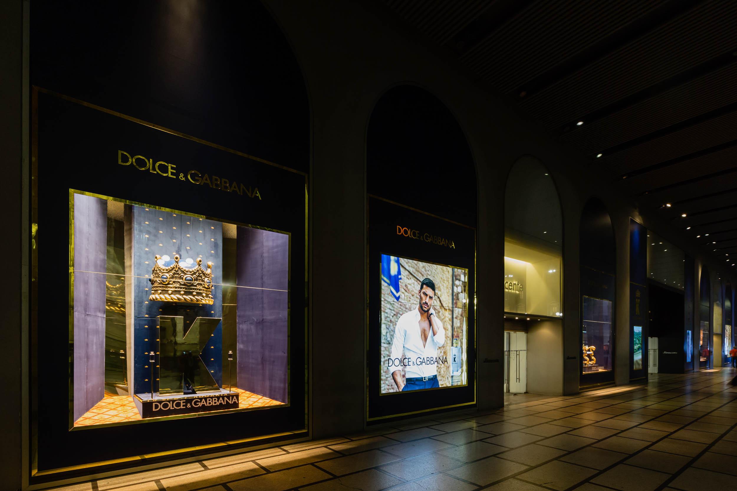 Beauty - D&G La_Rinascente Milano