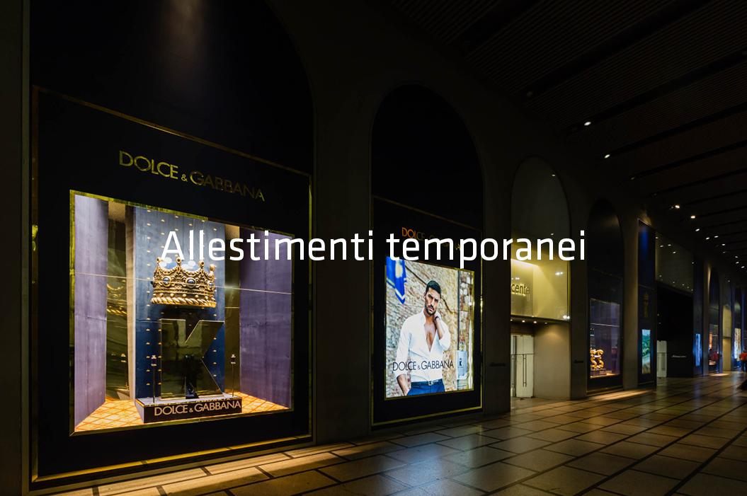 Dolce & Gabbana Vetrine La Rinascente Duomo Milano