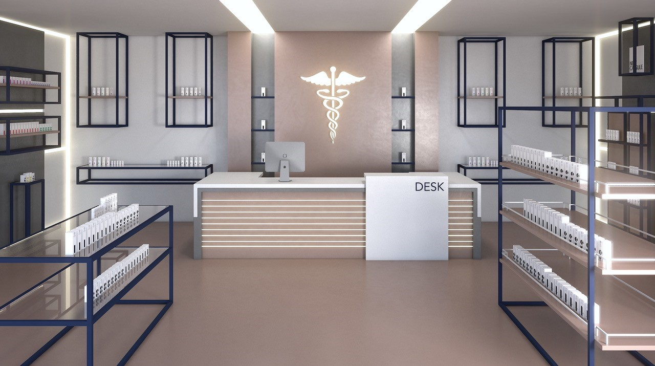 lay out farmacie