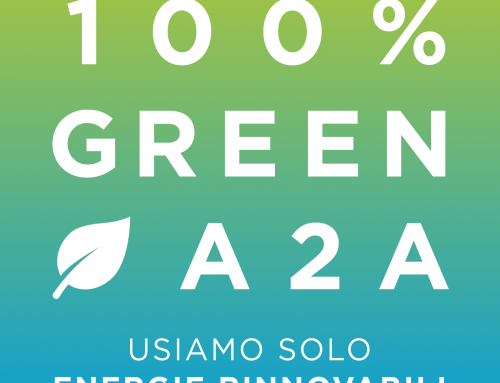 100% GREEN A2A: Pozzi Group commitment to the use of renewable sources continues