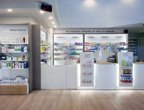 Taccona Pharmacy, Muggiò: a new restyling project